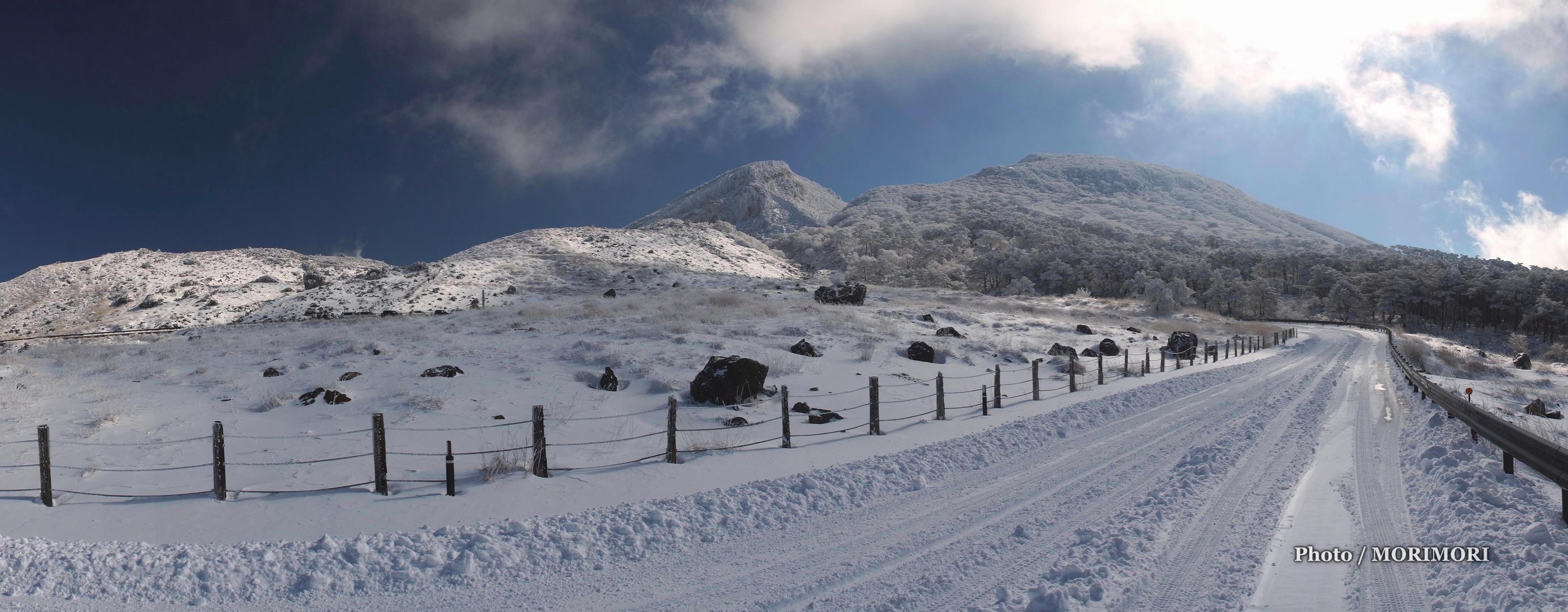 818e80999a 2016年1月20日 積雪したえびの高原