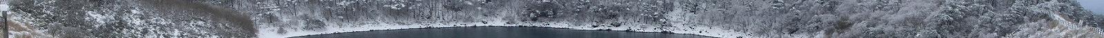えびの高原 冬の不動池 03