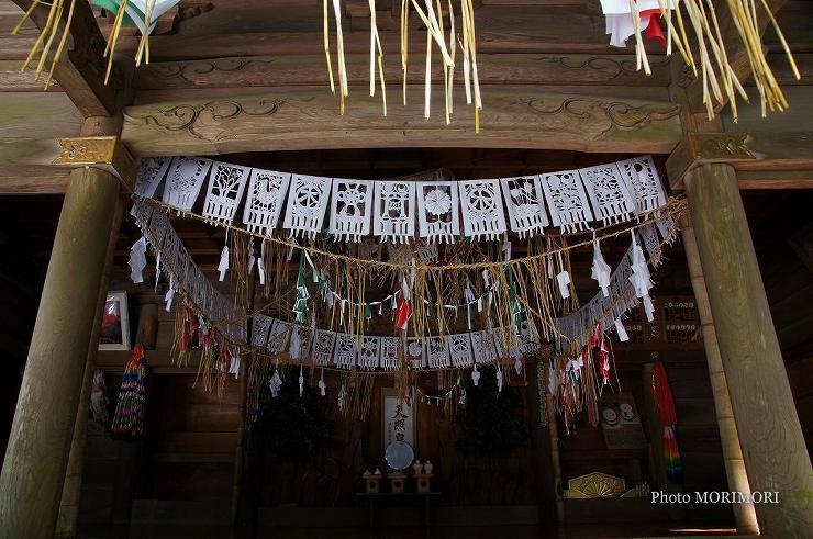 天岩戸神社 神楽殿 平成24年撮影 08