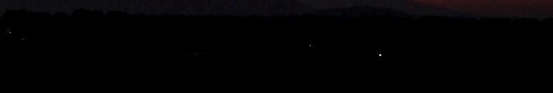 夕焼けに浮かぶ霧島山 08