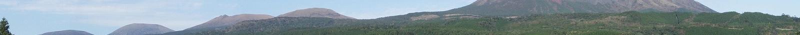 夢見が丘より見た霧島連山8−4