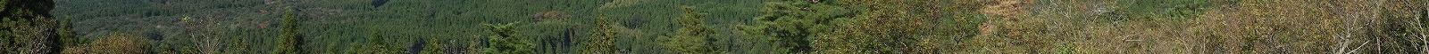 夢見が丘より見た霧島連山8−6