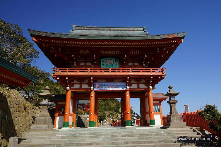 楼門 正面  平成27年撮影 (鵜戸神宮)